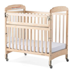 Compact SafeReach Crib w/ Adjustable Mattress Board - Mirror