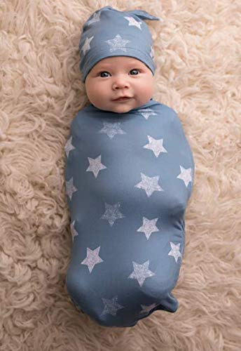 Cutie Cocoon and Hat Swaddle Set
