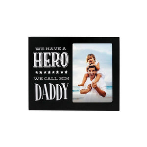 Dad Hero Photo Plaque