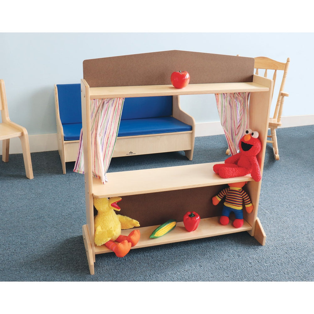 Deluxe Puppet Theater With Markerboard