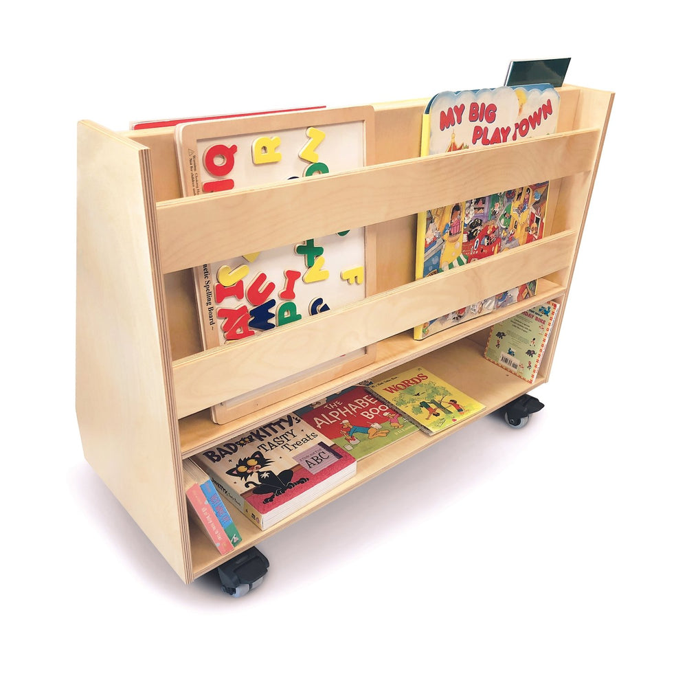 Deluxe Two-Sided Mobile Book Display