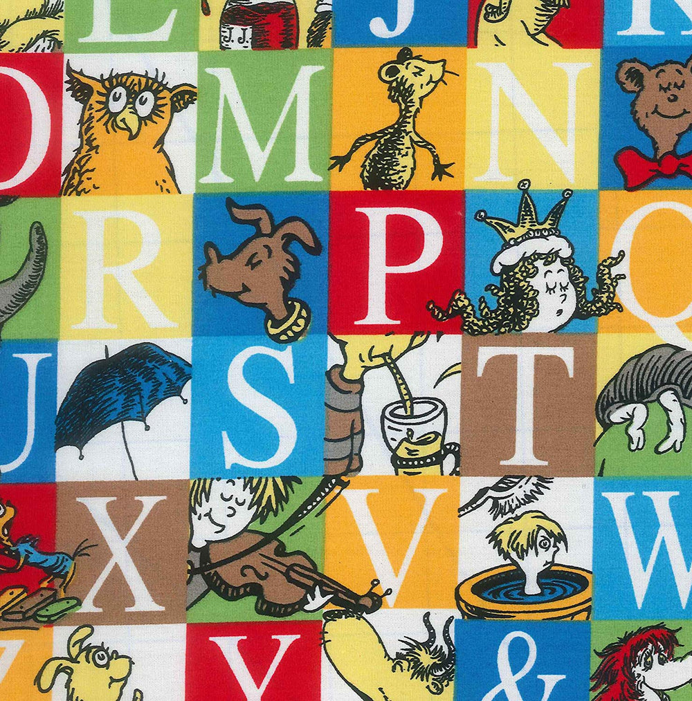 Dr. Seuss Alphabet Changing Pad Cover