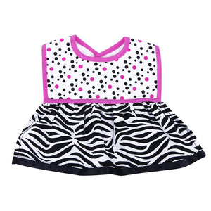 Dress Up Bib - Zahara Zebra