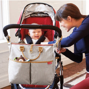 Duo Essential Diaper Bag: Special Luxe Edition