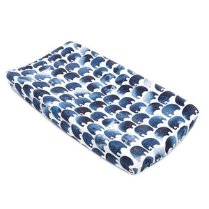 Elephant Jersey Changing Pad Cover