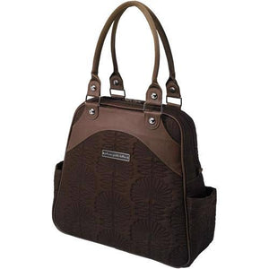 Embossed Sashay Satchel