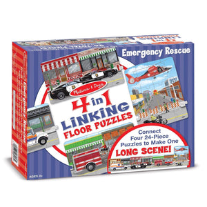 Emergency Rescue Linking Floor Puzzle