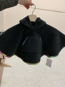 Everyday Poncho Black