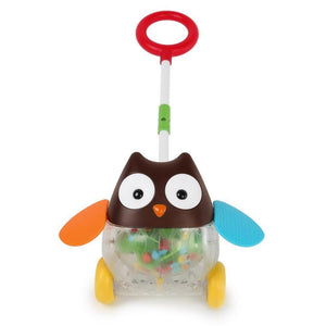 Explore and More Rolling Owl Push Toy