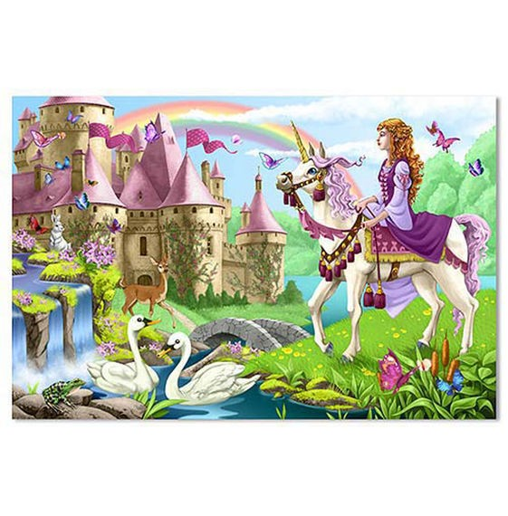 Fairy Tale Castle Floor Puzzle (48 pc)