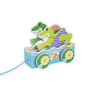 First Play Friendly Frogs Pull Toy