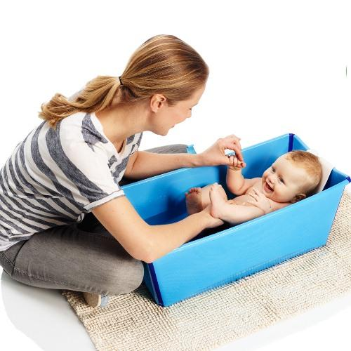 Flexi Bath Foldable Tub with Heat Sensitive Plug