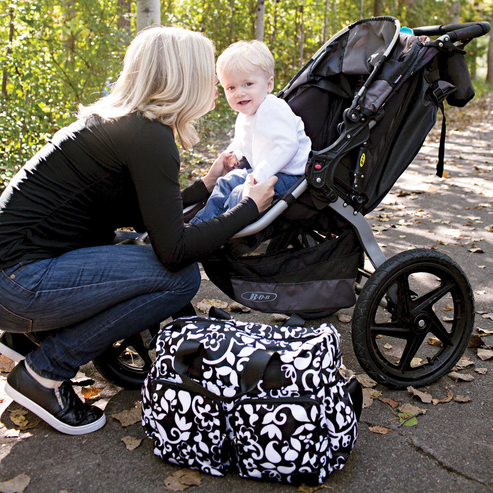 French Bull Vine Deluxe Duffle Diaper Bag
