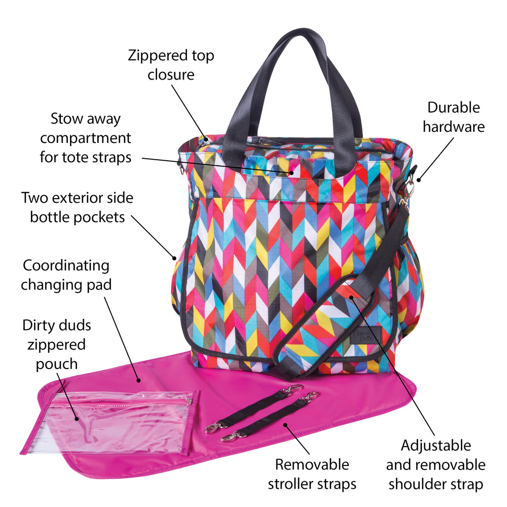 French Bull Ziggy Condensed Tote Diaper Bag