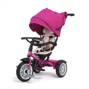 Fuchsia Pink Bentley 6-in-1 Stroller Trike