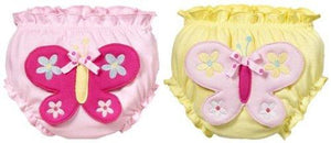 Ganz Butterfly Baby Bloomers Set of 2