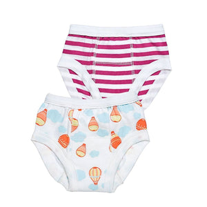Girl's Training Pants Value Pack of 2, 12-24M