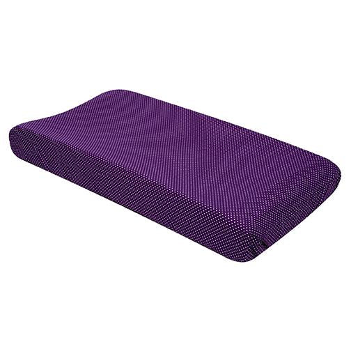 Grape Dot Changing Pad Cover
