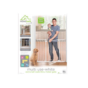 Home Safe Multi-Use Extra Tall Walk-Thru Gate