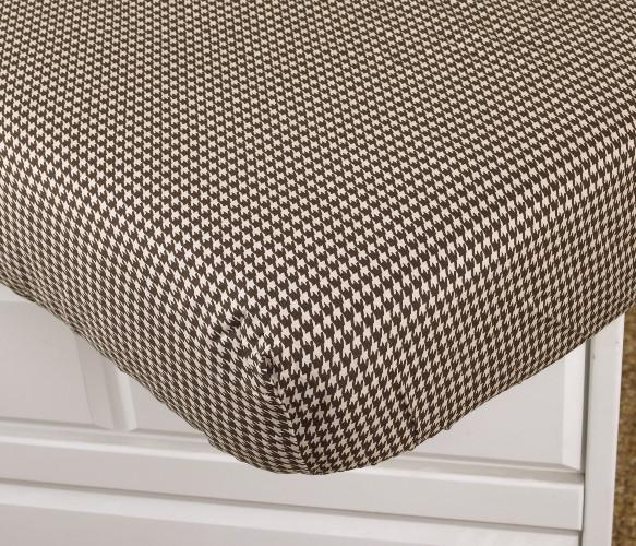 Houndstooth 7pc Crib Bedding Set