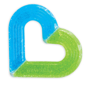 Ice Heart Gel Teether - Assorted Colors