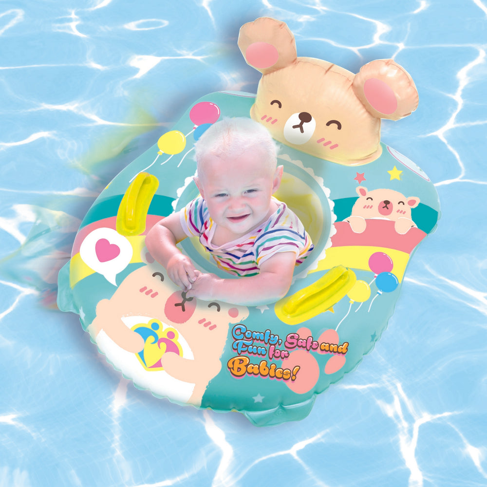 K Hamster Cushion Spaceship Baby Swim Float