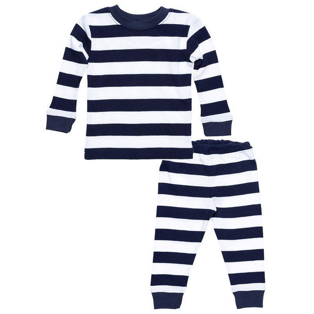 Kids Long Johns - Rugby Navy