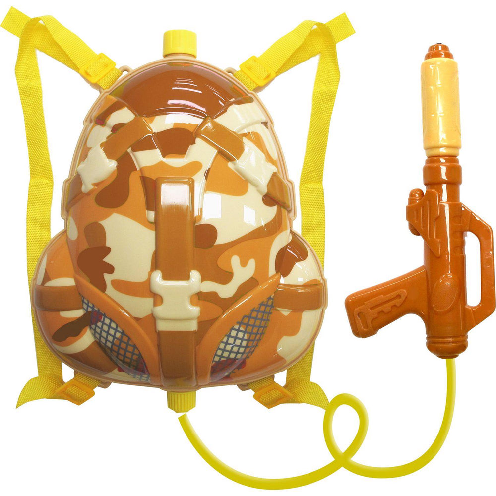 Little Soldier Backpack Water Gun