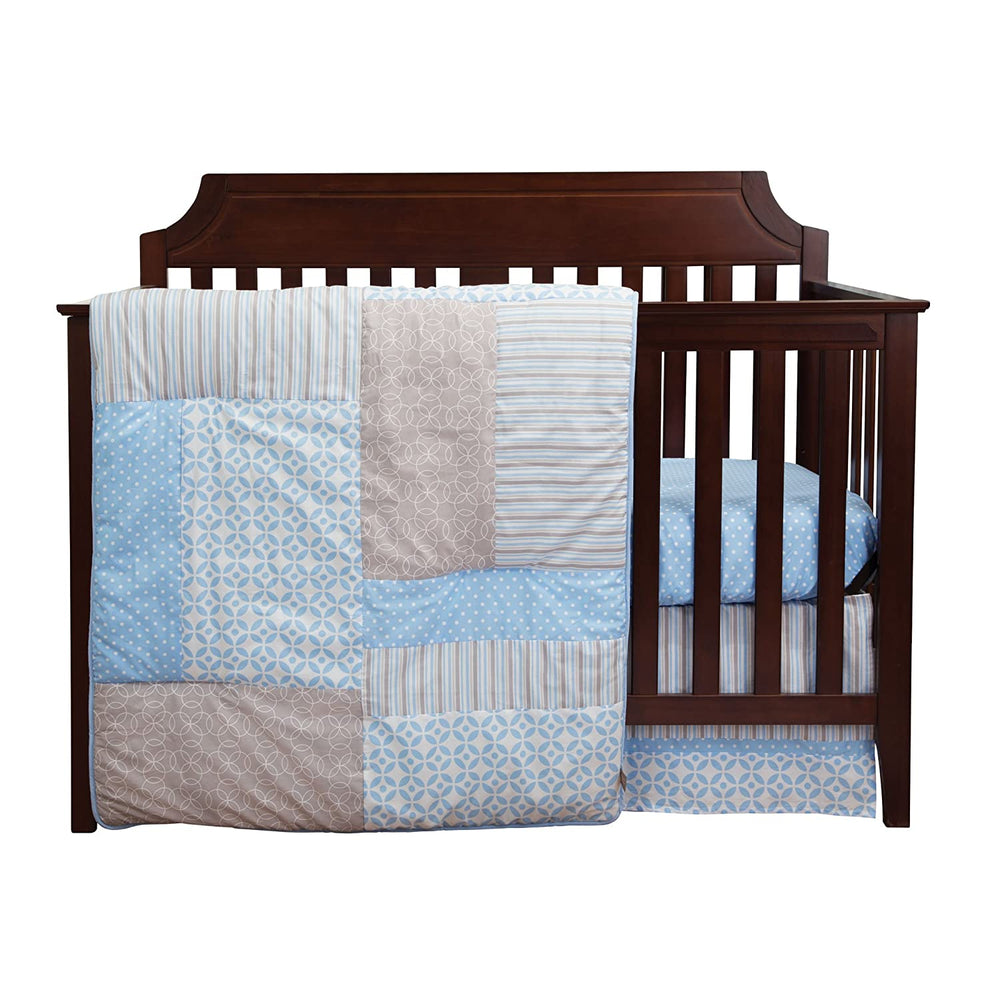 Logan 3 Piece Crib Bedding Set