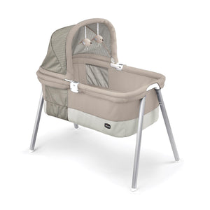 Lullago Deluxe Portable Bassinet - Taupe