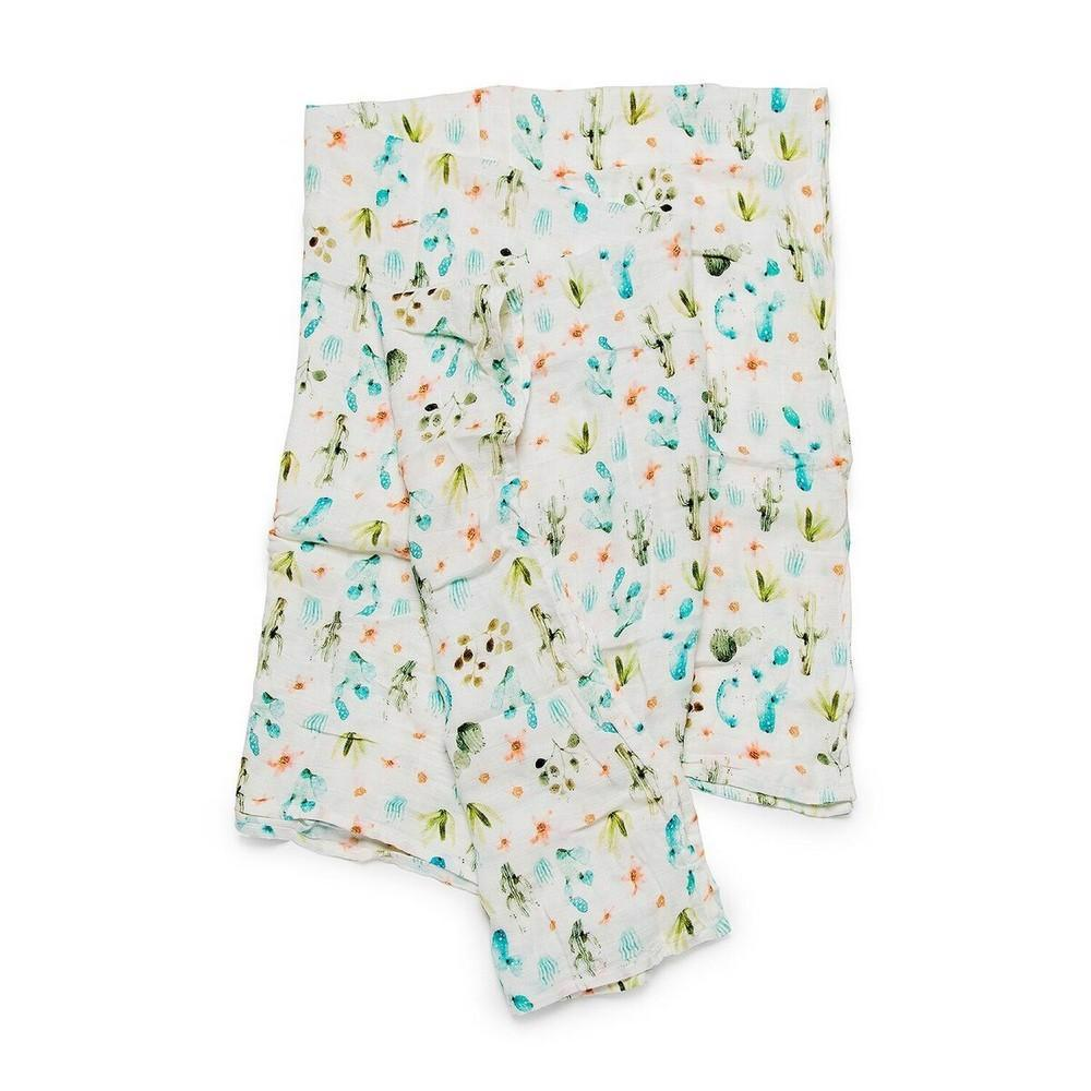 Luxe Muslin Swaddle-Cactus