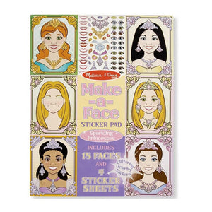 Make-a-Face Princesses Kit
