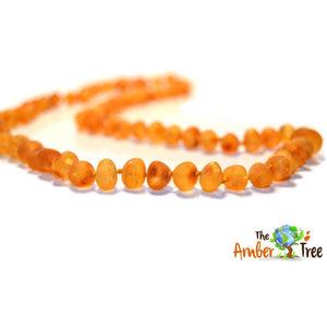 Maple RAW Baltic Amber Necklace