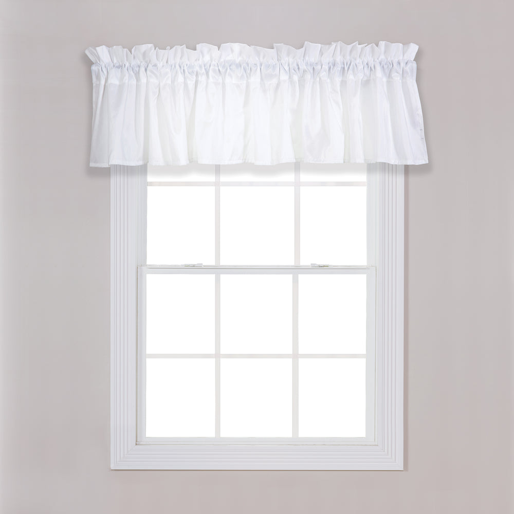 Marshmallow Window Valance