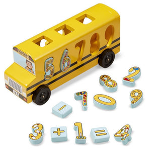 Math Bus Kid's Toy