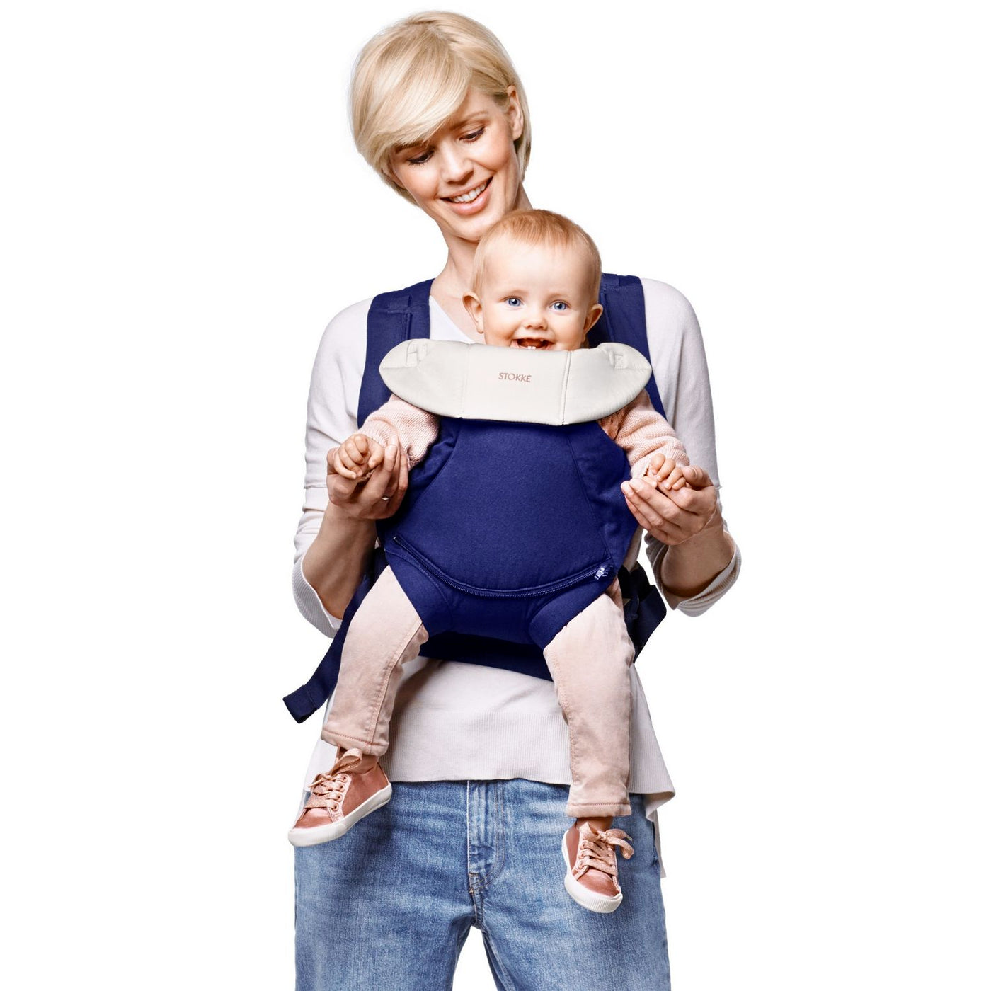 Stokke Mycarrier Front And Back Carrier Baby Earth