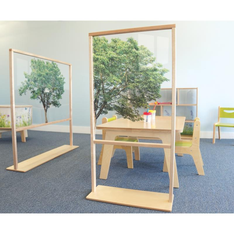 Nature View Floor Standing Partition