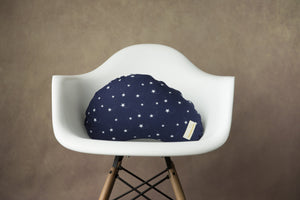 Navy Stars - littlebeam Nursing Pillow