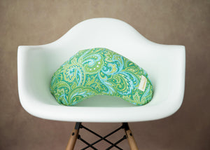 Nursing Pillow-Green Paisley