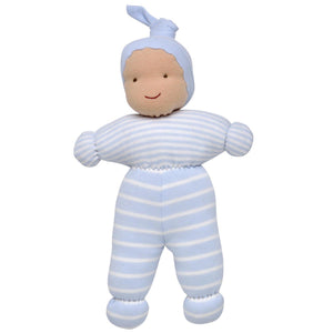 Ollie Baby Doll - Pale Blue Stripe