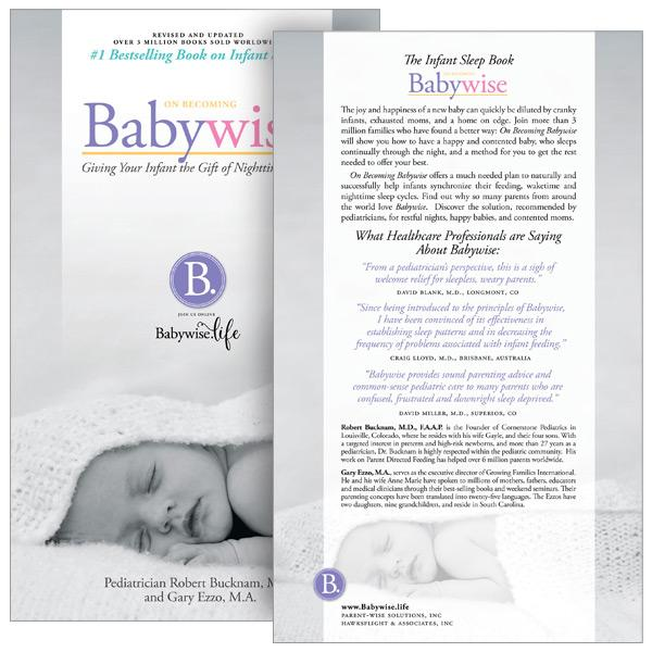 On Becoming Babywise - The Infant Sleep Book