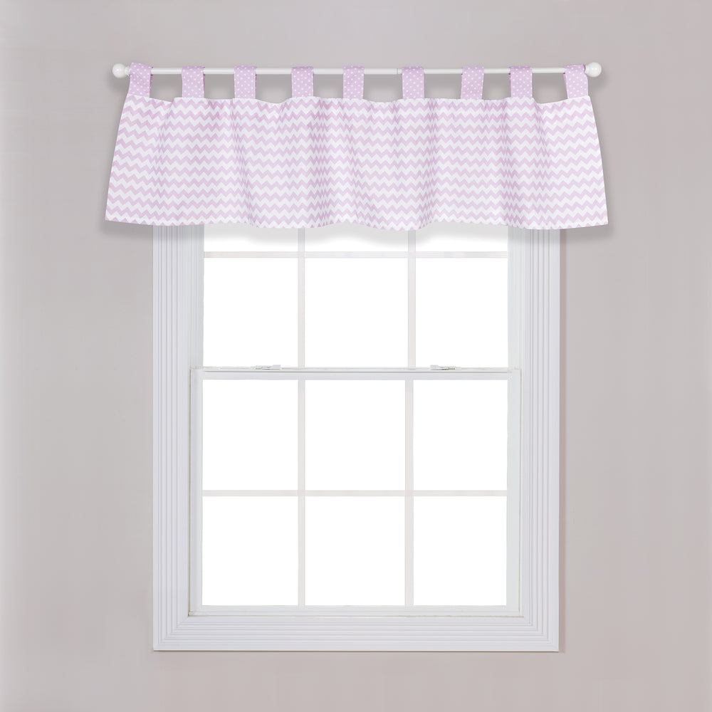 Orchid Bloom Window Valance