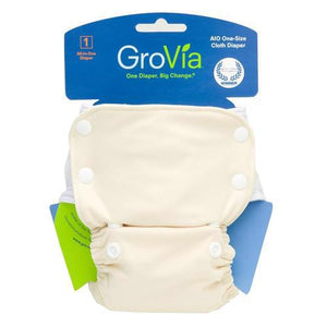 Organic All-in-One Cloth Diaper