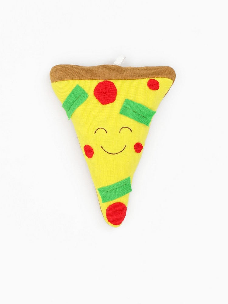 Organic Cotton Baby Stuffed Pizza Plush Toy - 5.5""