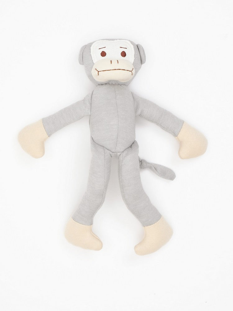 "Organic Cotton Big Monkey Toy - 11"" tall"
