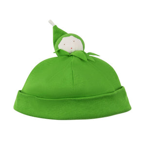 Organic Cotton Green Bean Baby Beanie Hat