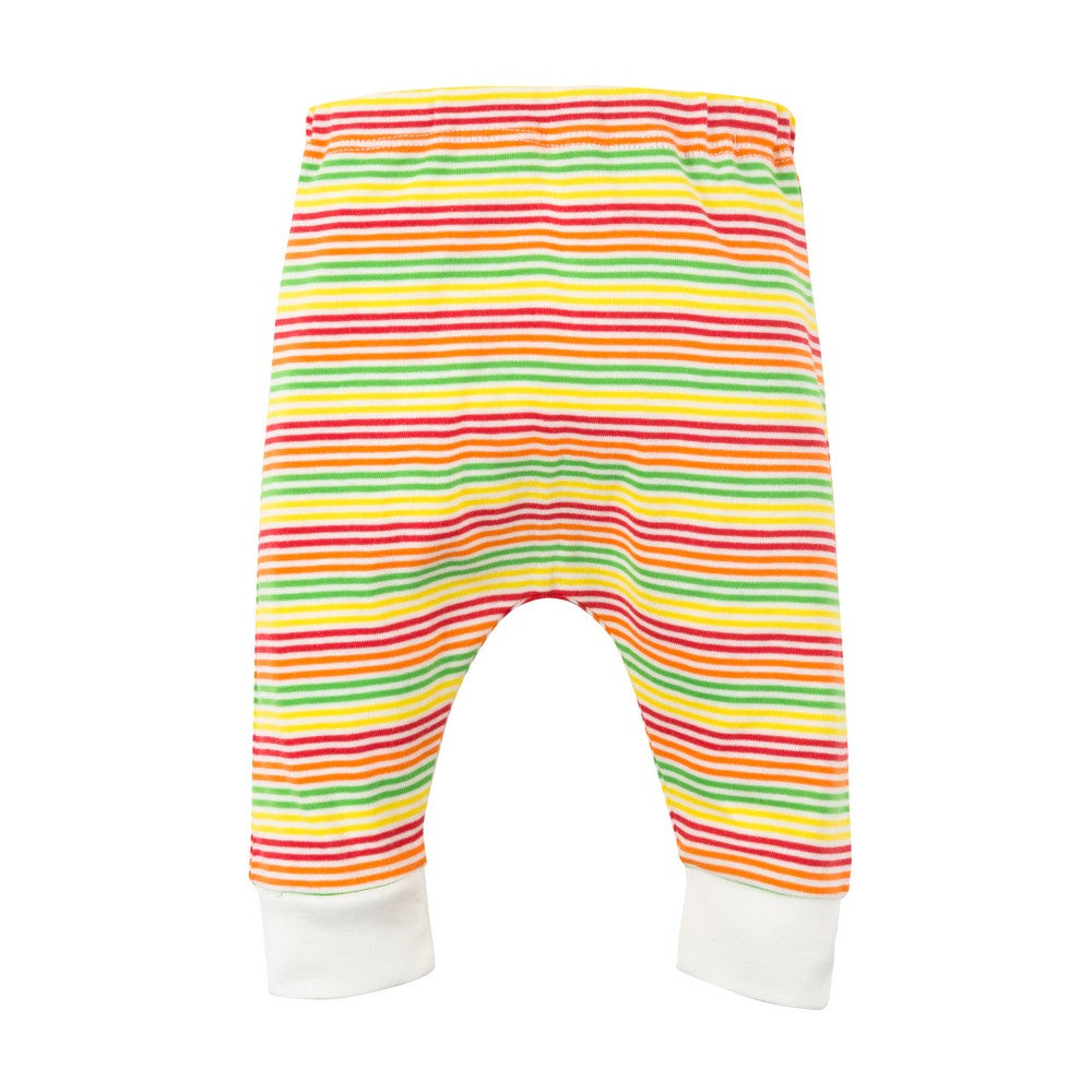 Organic Cotton Mulitcolor Stripe Harem Pant
