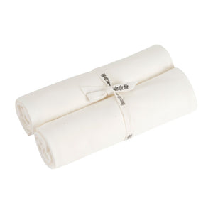 Organic Cotton Swaddle Blanket 2 Pack - Off-White