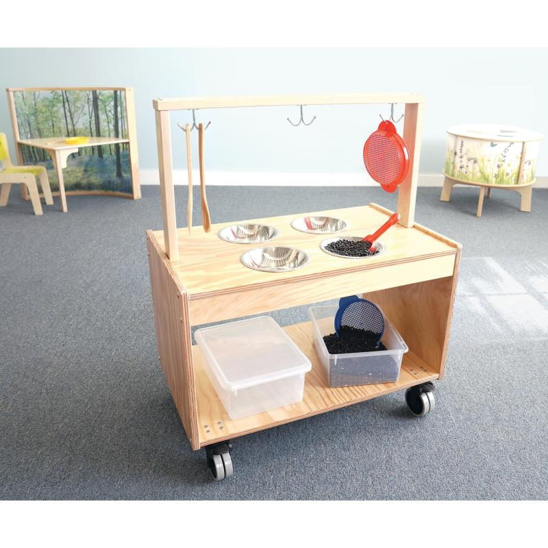 Outdoor Mobile Mud Play Kitchen