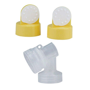 PersonalFit Breastshield Connectors With Valves & Membranes